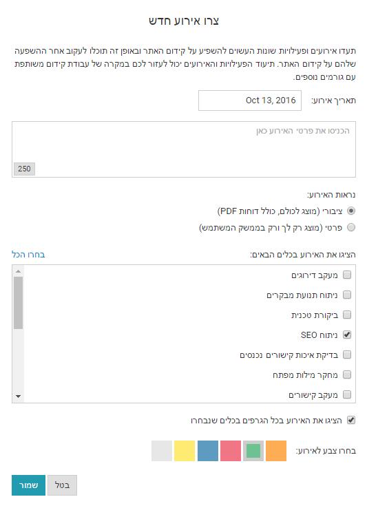 תעוד אירועים